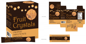 Fruit Crystals Packaging