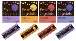 Fruit Crystals in different flavours