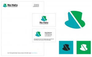 No Hats Logo & Stationary