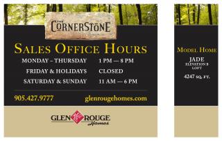 Signage for Glen Rouge Homes